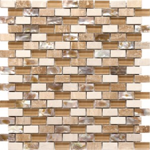 Arena Mosaic from the Boutique series from Olympia Tile