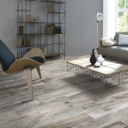 Living Wood Plank Porcelain Tile | Olympia Rondine