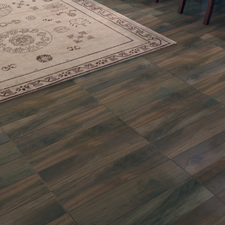 Timber Glazed Porcelain Tile | Chestnut Olympia