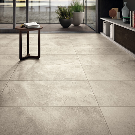 Glazed Porcelain Warm White Tile | Panaria