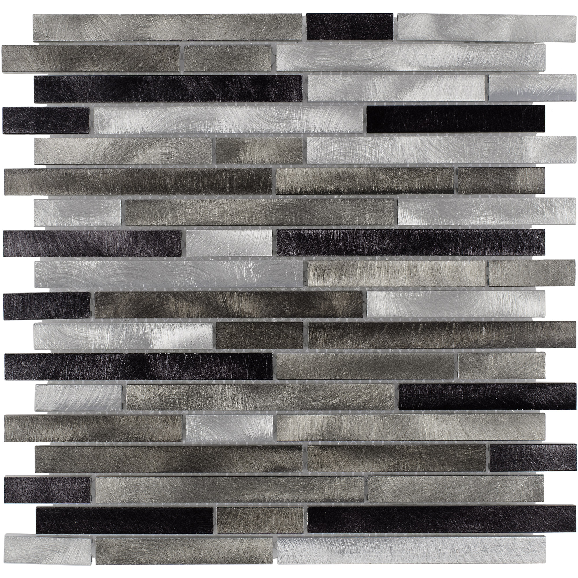 Modern Day Metals Anthology Glass Metal Mosaics Highrise